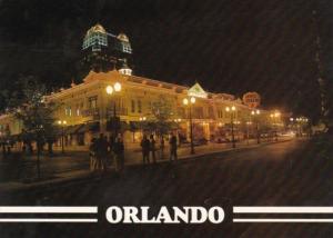 Florida Orlando Nightlife  At Church Street Station