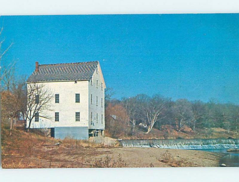 Unused Pre-1980 SNODDY'S GRISTMILL Covington Indiana IN d9388