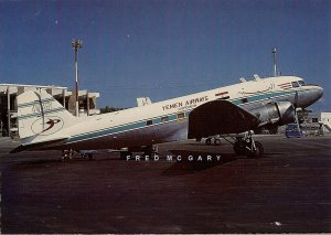C-1977 Yemen Airways Corporation Continental PC: DC-3 That Crash Landed at Mareb