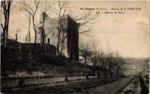 CPA Caylus Ruines de la Vieille Tour (614904)