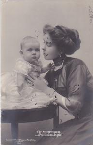 RP; Var Kronprinsessa med Princessan, Ingred, Germany, PU-1911