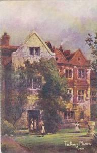 The King's Manor, York (Yorkshire), England, UK, 1900-1910s