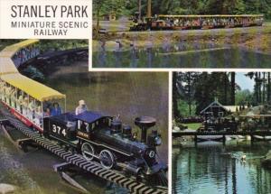 Canada Miniature Scenic Railway Stanley Park Vancouver British Columbia