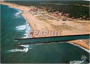 Postcard Modern Hossegor (Landes) Generale view of the Grande Plage with the ...