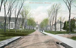 Canada - Quebec, Montreal. McGill University