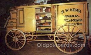 1870 peddlers wagon Antique Classic Car, Old Vintage Post Cards Postcard  187...