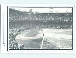 Unused 1970's Postcard PAST ERA VIEW OF BASEBALL STADIUM Washington DC HM4973