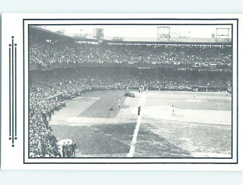 Unused 1970's Postcard PAST ERA VIEW OF BASEBALL STADIUM Washington DC HM4973