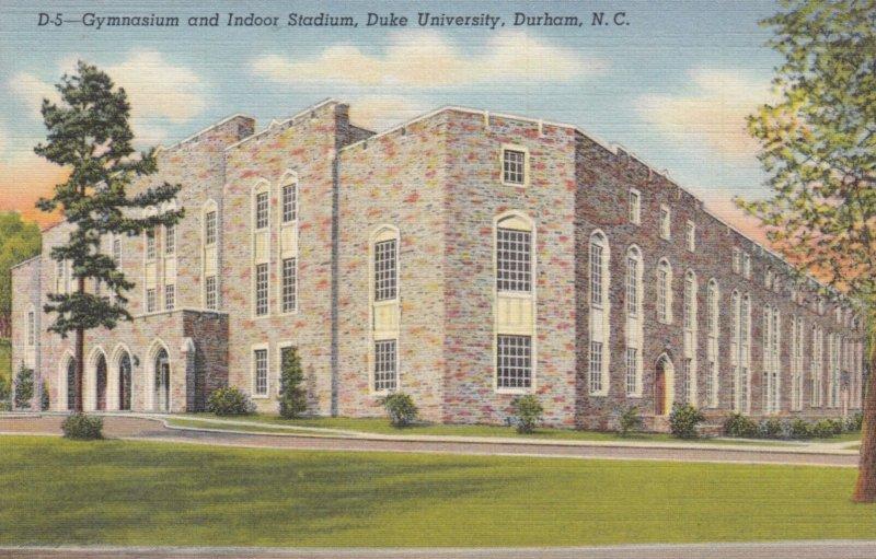 DURHAM , North Carolina , 1930-40s ; Gym & Indoor Stadium , Duke University