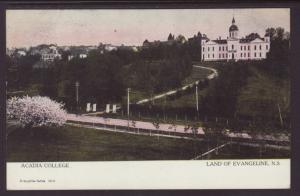 Acadia College,Land of Evangeline,NS,Canada