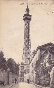 France Lyon Tour metallique de Fourviere