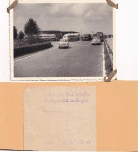 Stuttgart Autobahn Garage German Petrol Receipt 1950s Photo