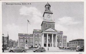 New Hampshire Dover Municipal Building 1954