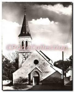 Postcard Old Church Villecresnes