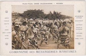 NOUMEA , New Caledonia , 1900-10s ; Pilou-Pilou, Danse Caledonienne