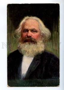 234436 Karl MARX German POLITICIAN philosopher by FEIERTAG old