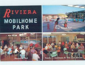 Pre-1980 RIVIERA MOBILE HOME TRAILER PARK Anaheim - Los Angeles CA G8363