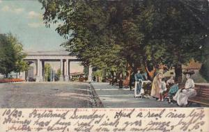 Maryland Baltimore Madison Avenue Entrance Druid Hill Park 1906
