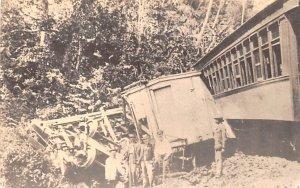 Panama Canal Railroad Co, Derailment Nov 4, 1895 Guam Unused