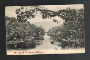 Mint Picture Postcard Ireland County Kerry Killarney Meeting of the waters
