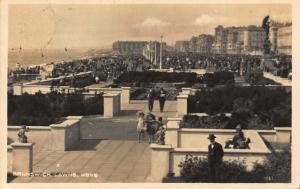 Brunswick Lawns Hove Promenade Postcard