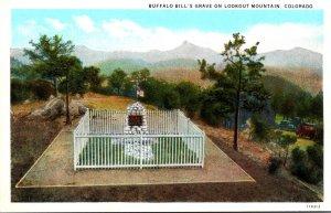Colorado Lookout Mountain Buffalo Bill's Grave Curteich