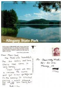 Red House Lake, Allegany State Park, New York