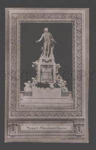 091335 MOZART Great Austrian COMPOSER Monument VIENNA Vintage