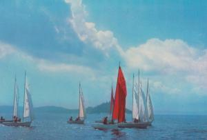 Royal Kennebaccasis Yacht Sailing Club Millidgeville Canada Canadian Postcard