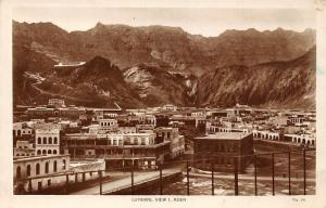 Yemen Aden General View 1, real photograph