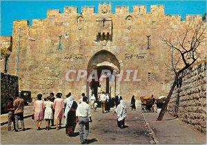 Postcard Modern Jerusalem Gate St Etienne