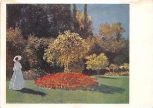 B75107 Klod Mone russia   art  painting  postcard