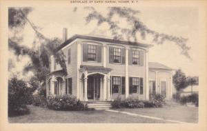 Birthplace of David Harum , HOMER, New York , 00-10s