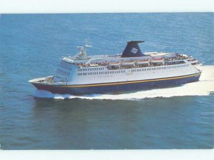 Pre-1980 BLUENOSE TOURIST SHIP BOAT Yarmouth Nova Scotia NS AF3813