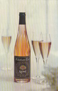Advertising Rose Wine Chateau Gai Wines Niagara Falls Canada
