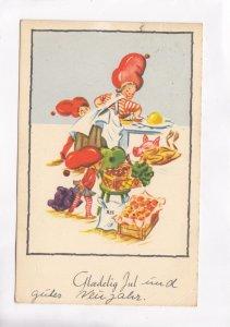 Glaedelig Jul, Denmark, 1955 used Postcard