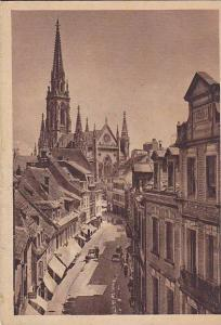 Rue Henriette Avec Temple, Mulhouse (Haut Rhin), France, 1900-1910s
