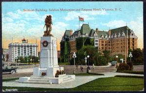 Belmont Building,Soldiers Monument,Empress Hotel,Victoria,BC,Canada