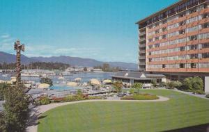 Swimming Pool, Gardens and Panorama, Bayshore Inn, Vancouver, British Columbi...