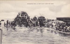 Swimming Pool At Fort Scott Camp For Girls