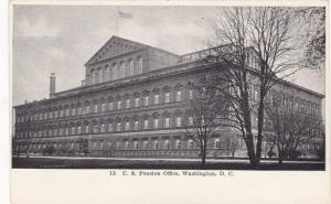 The United States Pension Office - Washington, DC - UDB