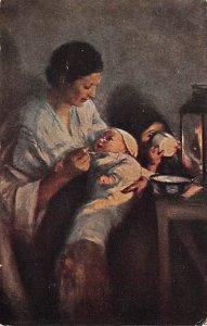 Mother and Children Elizabeth Nourse Art Unused