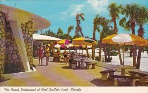 The Beach Restaurant At Fort Desoto Park Florida