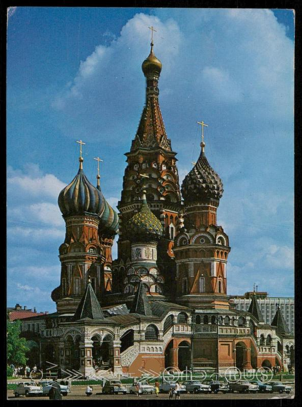 Moscow - St. Basil Cathedral