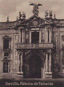 TC: Serie De España, Fabrica De Tabacos, Sevilla (Andalucia), Spain, 1900-19...