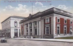 Connecticut Waterbury Post Office And Buckingham Building