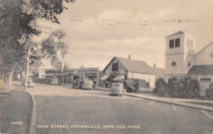 Osterville Cape Cod Massachusetts Main Street Vintage Postcard JJ649308