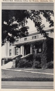 CHICKASHA, Oklahoma, 30-50s; Willard Hall, Oklahoma College for Women