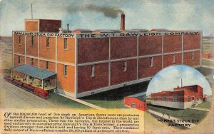 LP38 Memphis  Tennessee Postcard Stock Dip Factory W. T. Rawleigh Co  Veterinary
