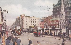 Street View, The Strand, Charing Cross, Showing Chemist Drug Store/Pharmacy, ...